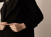 Massimo Dutti coat with waist detail € 199