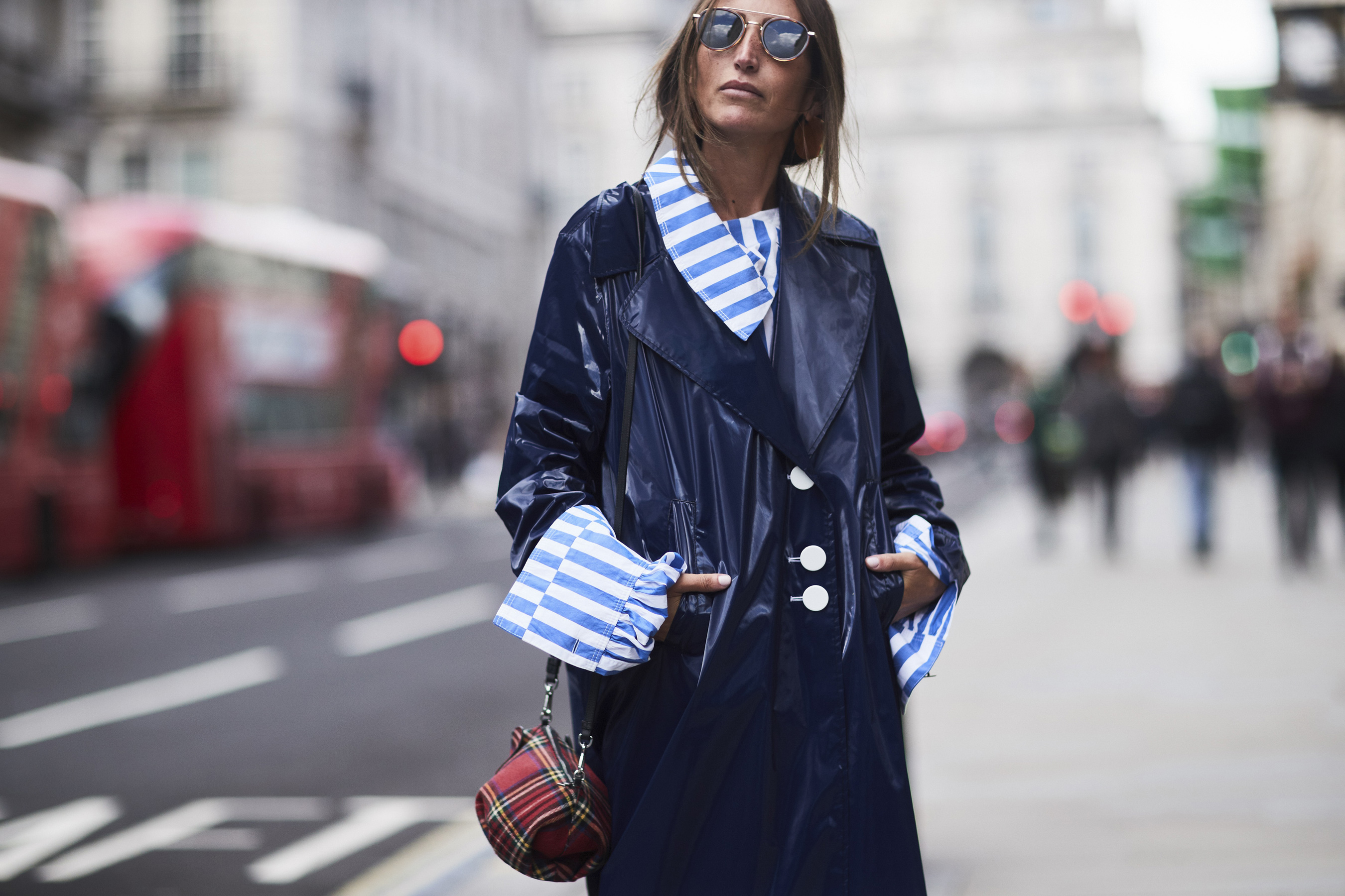 LFW spring 2018 streetstyle trends fashion London