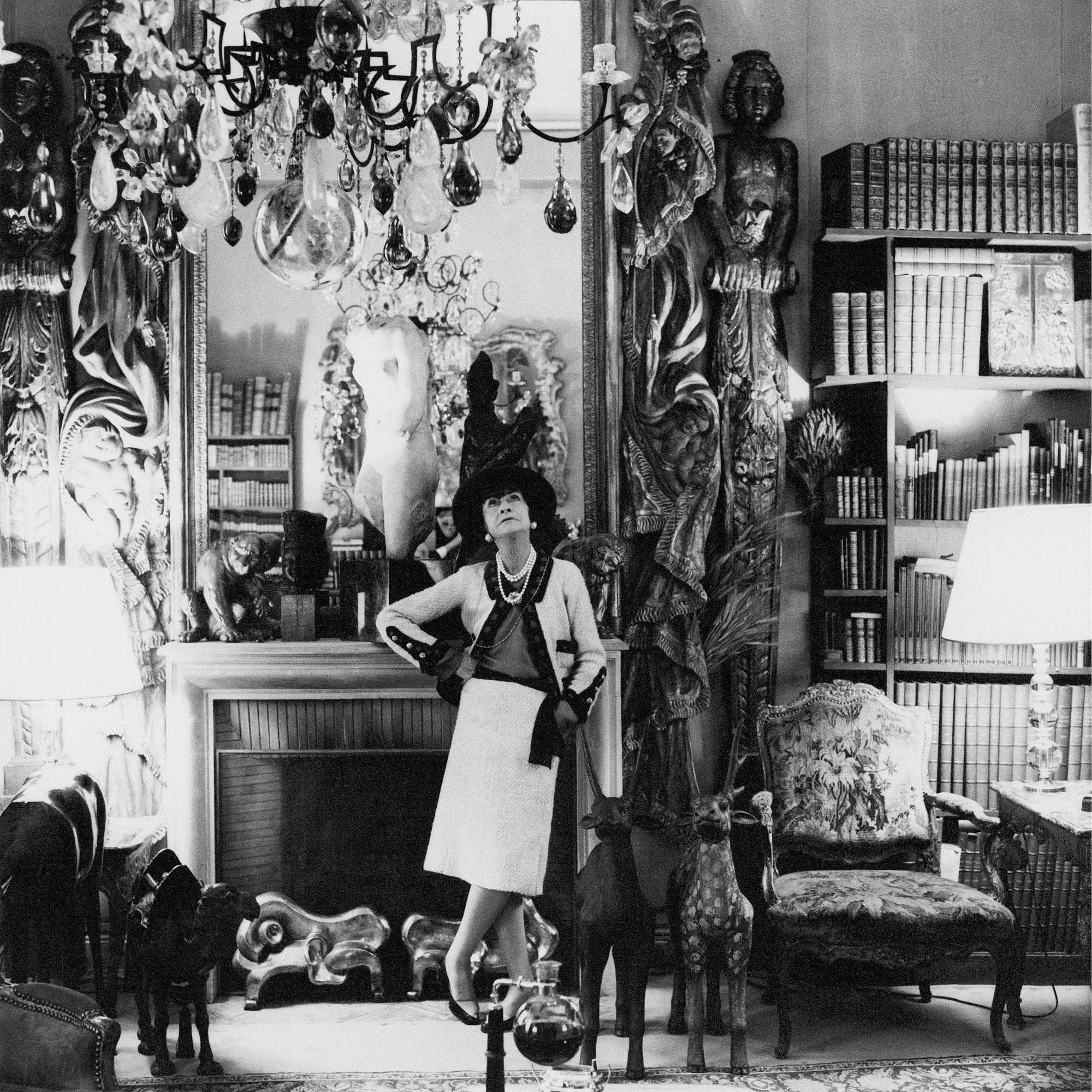 0a052ad0b2a Coco Chanel s favourite haunts in Paris book shop 7L Théâtre des  Champs-Élysées The Ritz