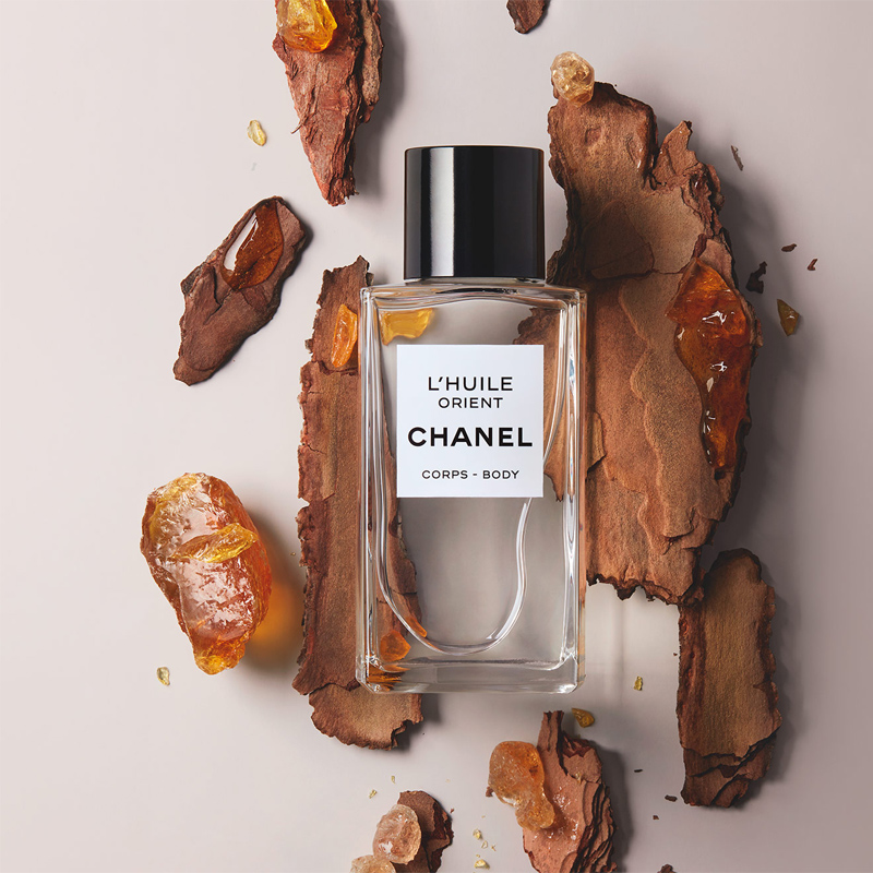 Chanel, body oil, chanel, French maison, Chanel massage oil, body care line