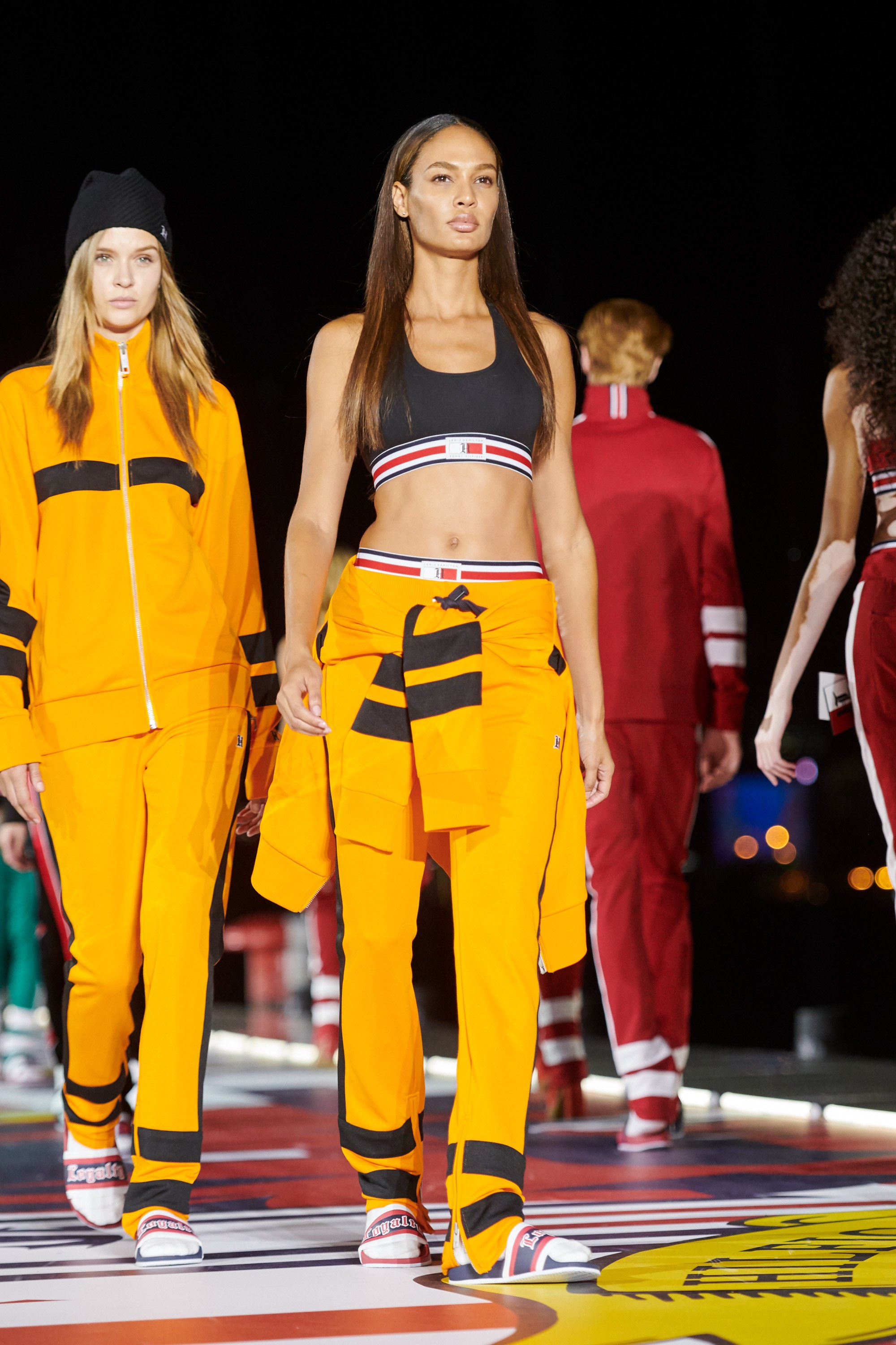 Tommy Hilfiger, Fall 2018, Ready-to-Wear, collection, Tommy Now, line, fashion, brand, Park Chanyeol, designer, collaboration, Lewis Hamilton, Gigi Hadid, runway, Hailey Baldwin, Winnie Harlow, fashion house, Tommy x Lewis, #TOMMYNOW