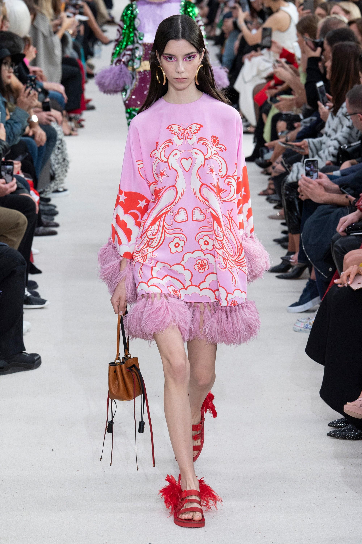 Up Fashion Magazine: Paris Fashion Week: Valentino Spring 2019 Ready-to-Wear
